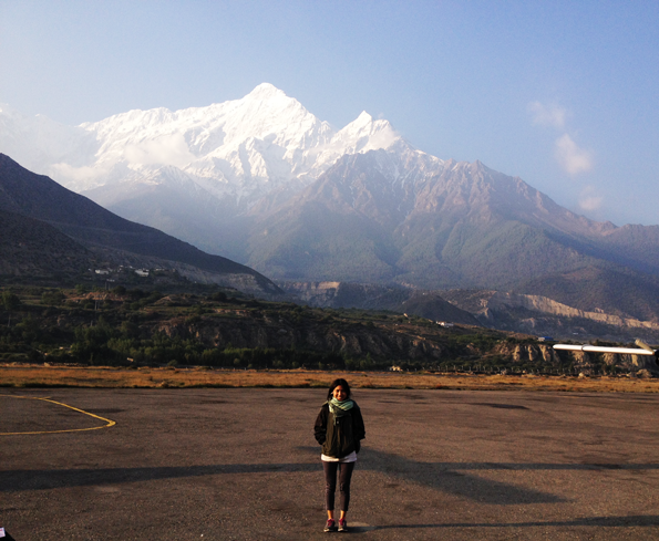 At Jomsom Airport Runway